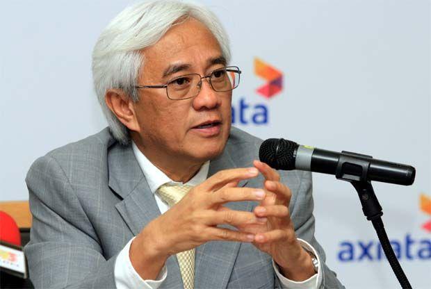Axiata president and group chief executive officer Tan Sri Jamaludin Ibrahim