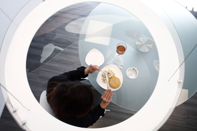 Your bubble is ready: plastic pods offer solution for COVID dining - The Star Online