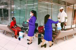 Three Nigerians stranded at airport for over two months