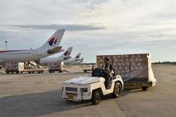 Malaysian air cargo carrier profits from soaring demand for medical gloves