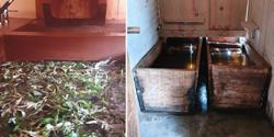 Soaking the healing properties of a hot stone bath in Bhutan