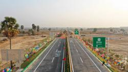 China-aided PP-SHV Expressway in Cambodia to be completed ahead of schedule