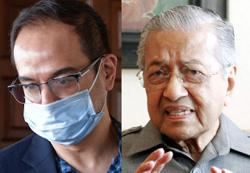 Dr M on Riza Aziz: He retains half the stolen money and gets acquitted