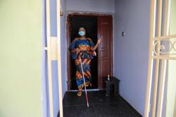 Visually impaired Nigerians struggle to navigate coronavirus challenges