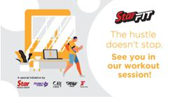 Work out your frustrations with StarFit