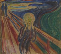 Breath from visitors is damaging Edvard Munch's 'The Scream'