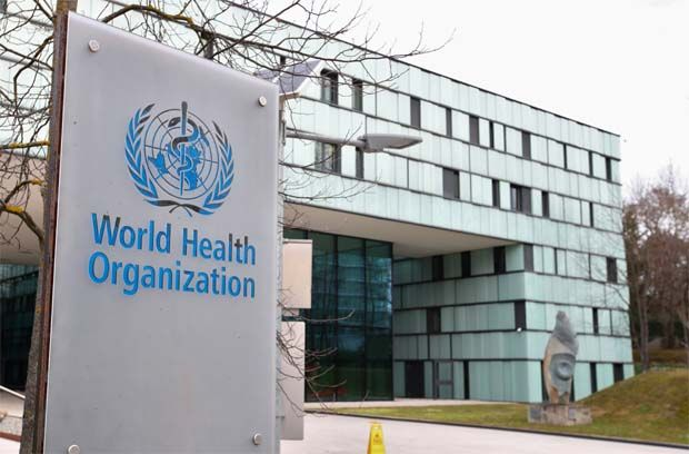The World Health Organisation (HQ pic) is calling for progress in the areas of clean energy, work and economic growth and climate action to reduce some of the world's most serious disease threats.