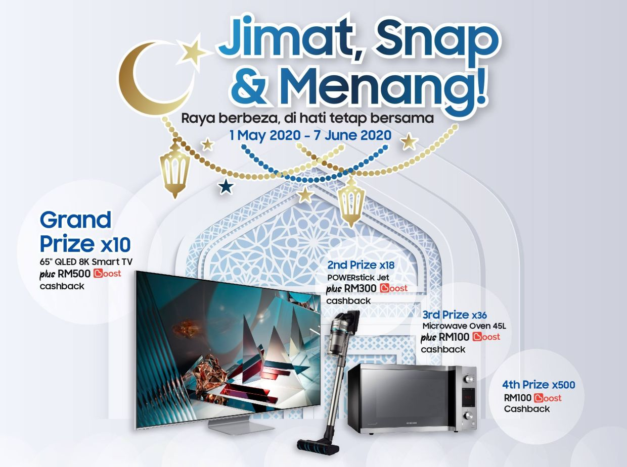 Samsung's 'Jimat, Snap & Menang' contest offers prizes worth up to RM424,000