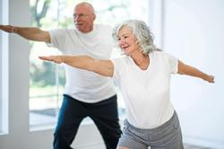 Having strong relationships promotes exercise among senior citizens