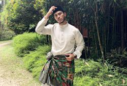 Taiping-born actor Azrel Ismail content with spending Raya alone in KL