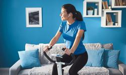 Here are some tips for working out at home