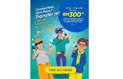 Extra rewards for eWallet users this Raya