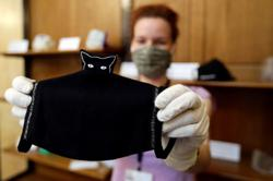 Czech museum launches face mask exhibition to archive pandemic essential