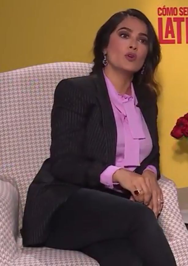 Co-founder of Gucci's Chime for Change and Kering Foundation board director Salma Hayek. Photo: Wikimedia Commons/NotimexTV