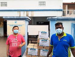 Retail chain donates essentials to three homes