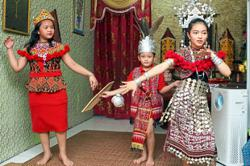 A simple Gawai for Dayaks in Johor