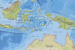 Quake strikes off Maluku Islands in eastern Indonesia