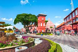 WhatsApp message shows hotels for sale in Melaka