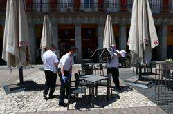 Madrid residents eager ahead of this week's reopening