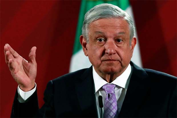 """My prediction is that with coronavirus, a million jobs will be lost,\"" Lopez Obrador said in a televised speech. \""But we will create two million new jobs.\"" The job loss number matches the estimate by the country\'s business coordinating council (CCE)."