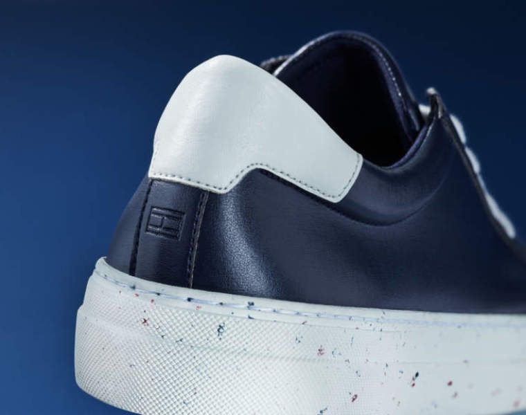 Earlier last month, Tommy Hilfiger also launched a collection of sneakers made out of apple fibre.
