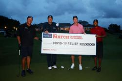 US$20mil raised for Covid-19 victims in special charity golf match by Woods