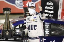 Keselowski wins NASCAR's longest race