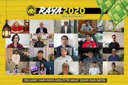 Malaysia's top football players, officials send out Raya greetings