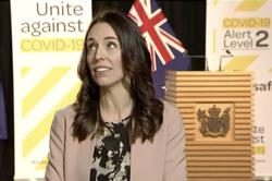 New Zealand's Ardern stays cool as earthquake strikes during live interview