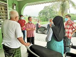 Pregnant wife loses hubby days before Raya
