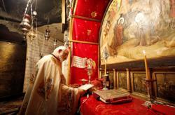 Bethlehem's Church of the Nativity reopens as Palestinians ease coronavirus curbs