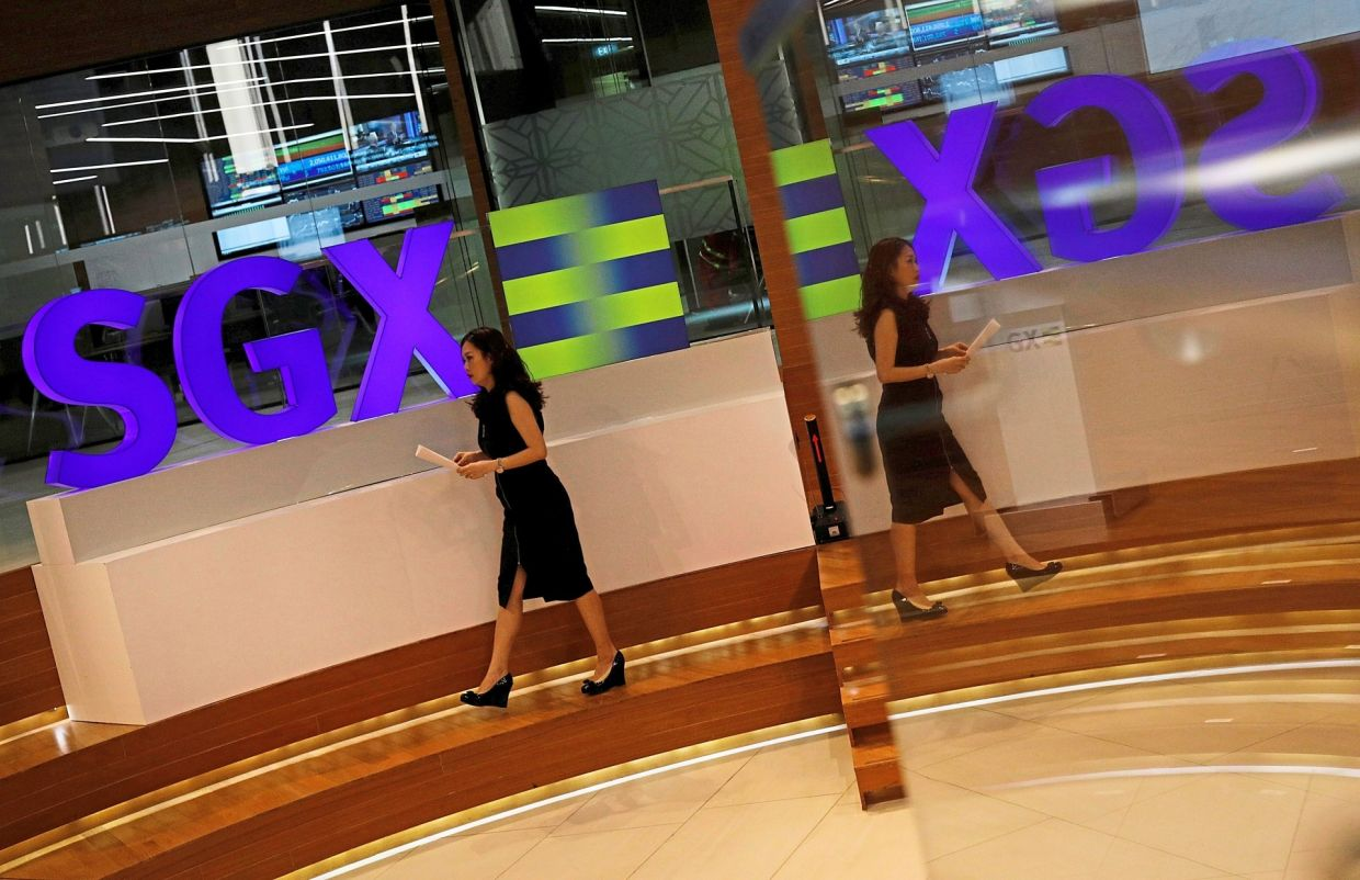 Singapore Exchange shares post steepest drop since 2008