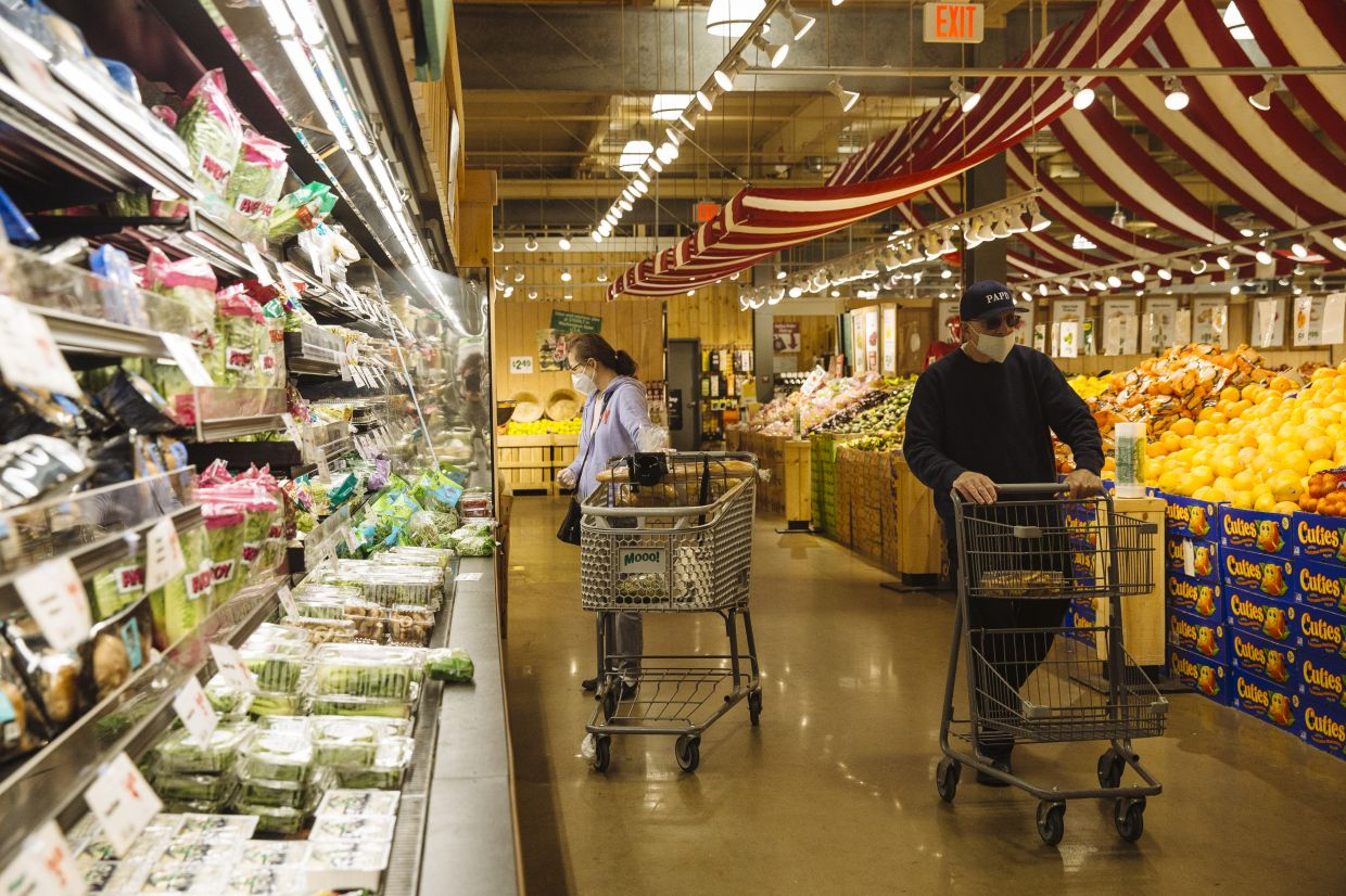 Among those who use online grocery pickup services, only half include produce in their orders primarily due to concerns over quality, according to Field Agent, an industry researcher. Fresh food is the thing that consumers are most likely to buy in physical stores exclusively once the pandemic subsides, according to research from Evercore ISI. — Bloomberg