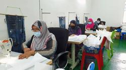 Single mothers get sewing lifeline