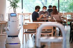 Robot barista 'hired' to help with social distancing
