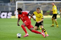 Bayern with one hand on league title after 1-0 win at Dortmund