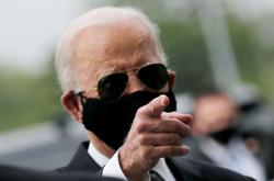 Biden calls Trump 'absolute fool' for not wearing face mask