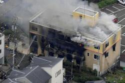 Suspect in deadly arson attack at Japanese animation studio arrested
