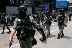 Hong Kong police fire pepper pellets as hundreds rally, Li Ka Shing defends new security law (Update)