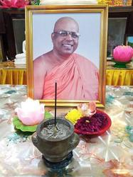 Mahindrama Buddhist Temple chief monk dies at 66