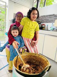 Home cook Tengku Maizura's rendang daging is a treasured Raya recipe