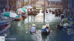 Ratchaburi's famed floating market reopens with free boat rides