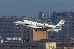 Private jet demand rises as wealthy Russians spend lockdown in West