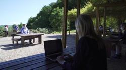 Exams amid the olives for students in coronavirus Italy