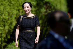 Huawei 'disappointed' over court ruling in Meng Wanzhou case