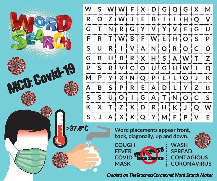 Find the hidden words, children!