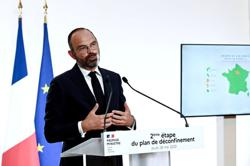 France to open bars and beaches in second phase of easing lockdown