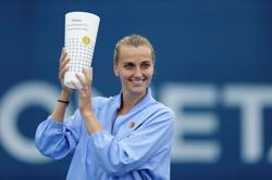 Dressed for French Open, Kvitova wins all-Czech crown on return to action