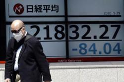 Asian shares fall as US-China tensions douse rally on Wall St
