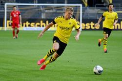 Dortmund's Haaland to miss Paderborn game, Dahoud out for the season